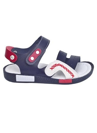Şirin Bebe Kiko şb 2498-07 Orto pedik Erkek Çocuk Sandalet Terlik Renkli